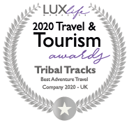 Lux life travel and tourism logo