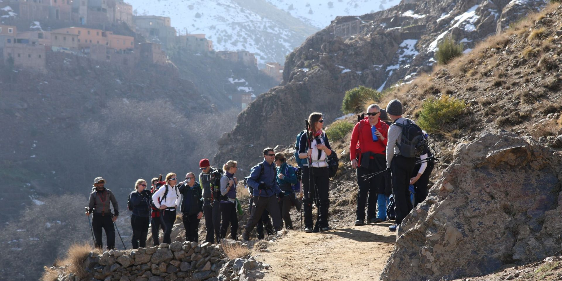 Mount Toubkal path