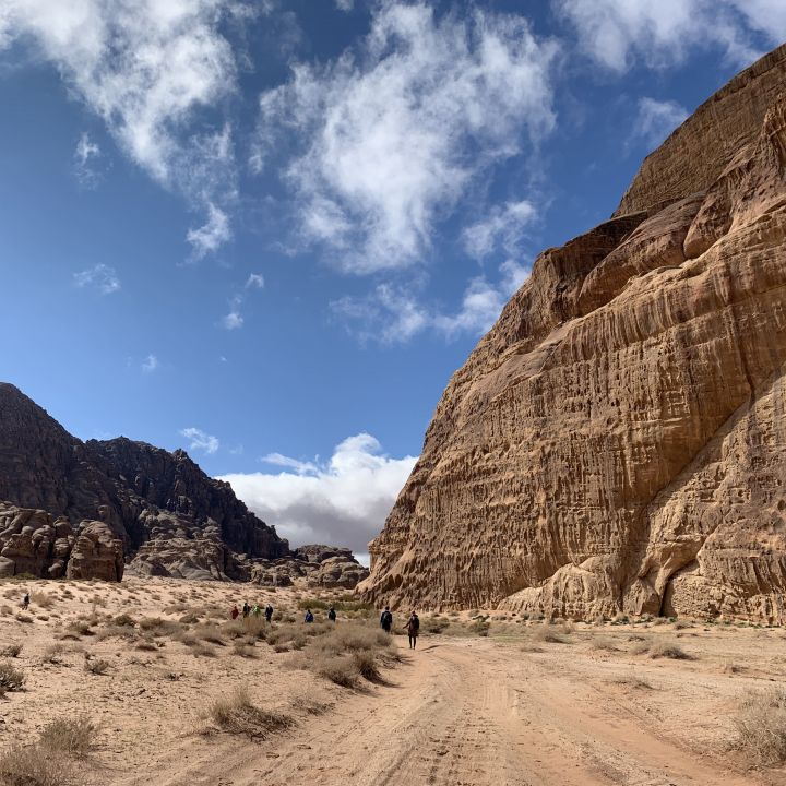 Wadi Rum canyons