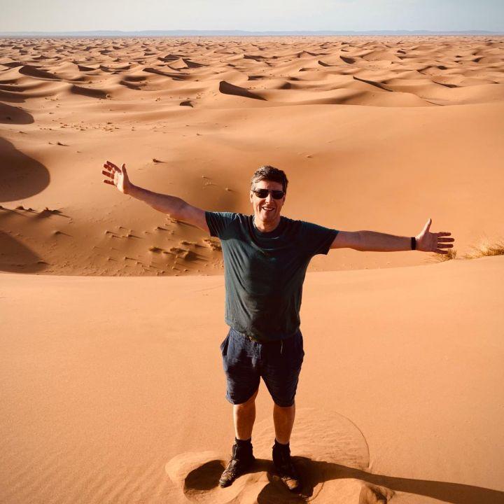 trek in dunes