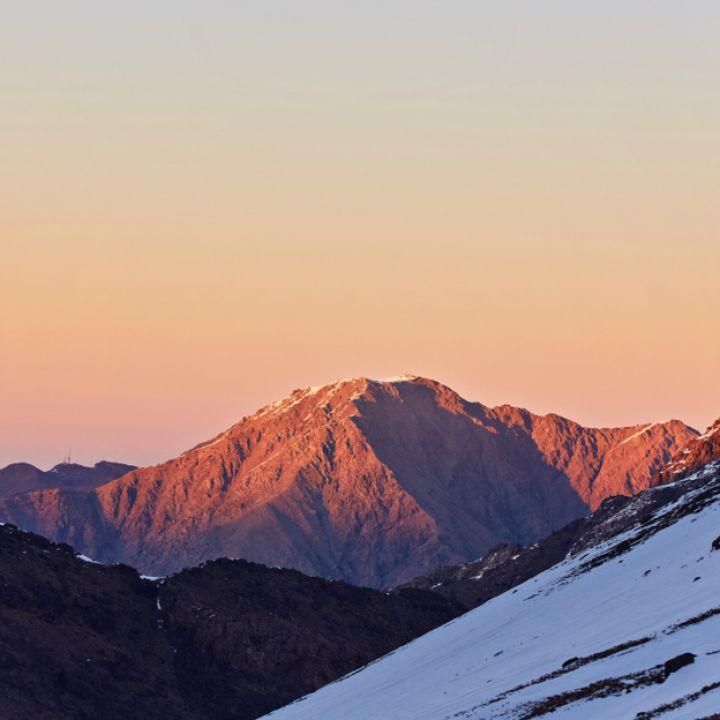 Toubkal sunrise