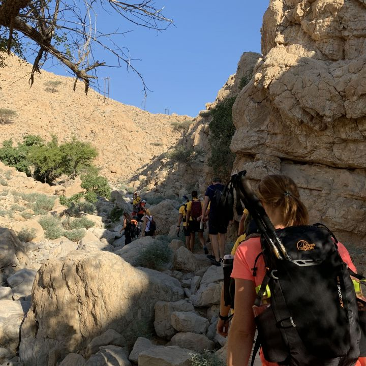 Trekking the Musandam